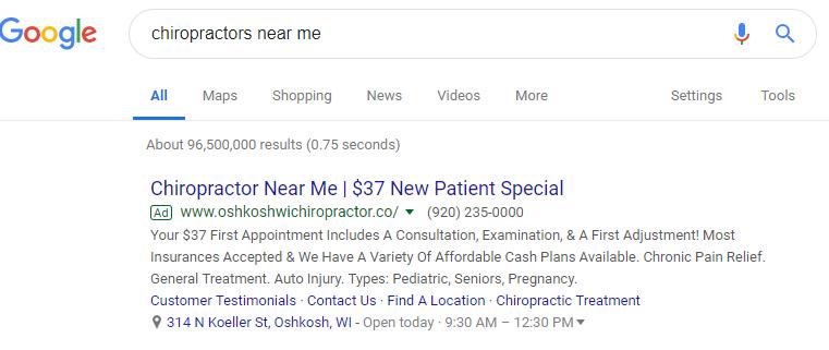 Best Google Ads Examples Chrio