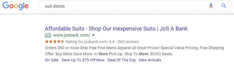 Best Google Ads Examples Suit