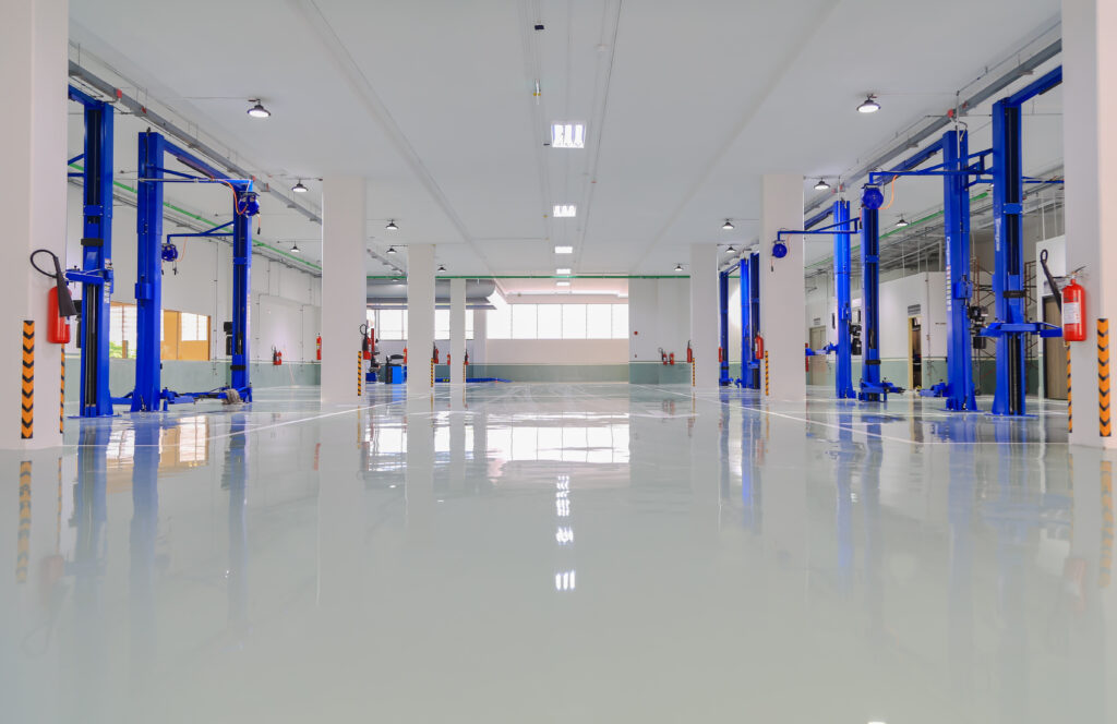 commercial floor stripping and waxing services