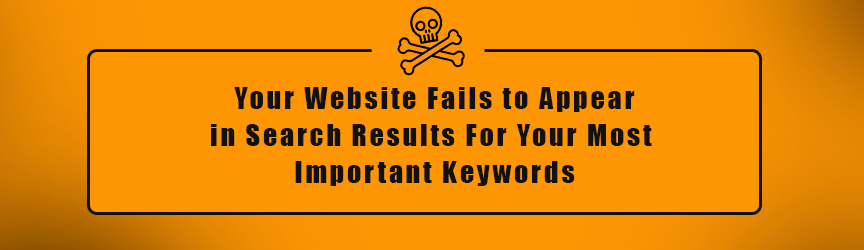 SEO Help - Your Website Doesn't Appear in Search Results