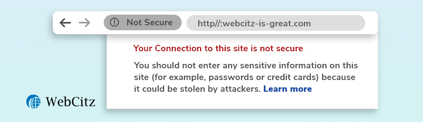 Your Website is Not Secure