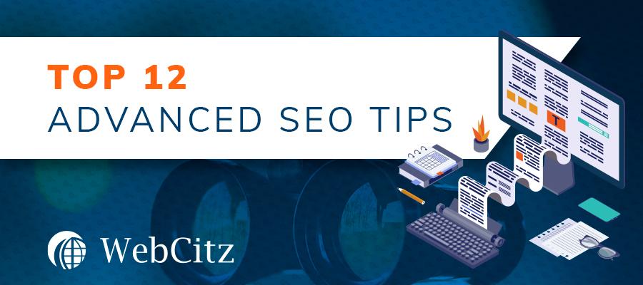 Top 12 Advanced SEO Tips Image