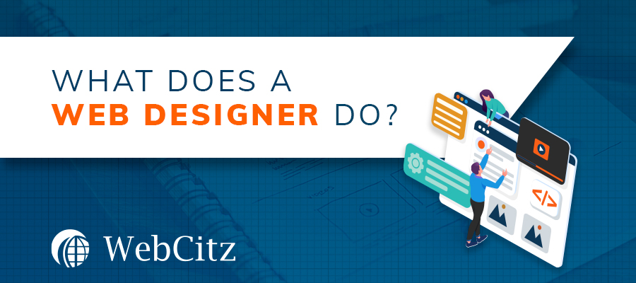 What Does a Web Designer Do? Image