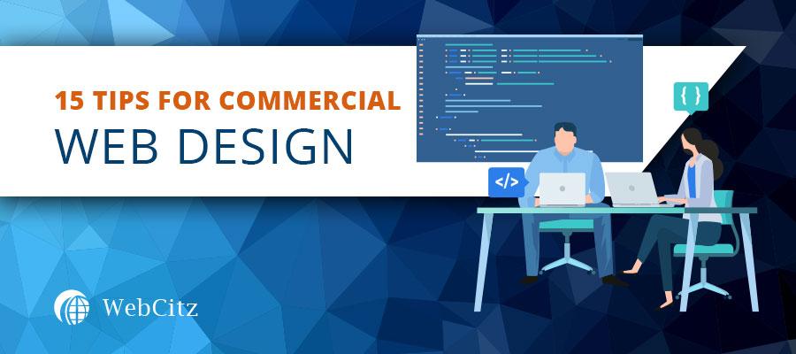 15 Tips for Commercial Web Design Image