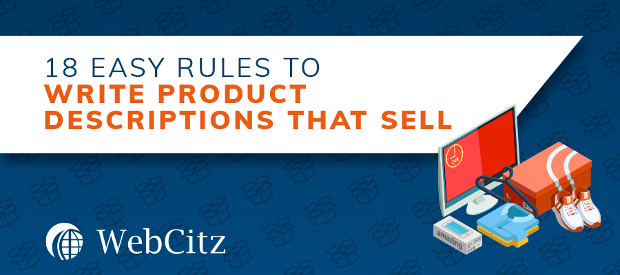 18 Easy Rules to Write Product Descriptions That Sell Image