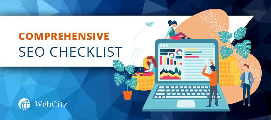 Comprehensive SEO Checklist Image