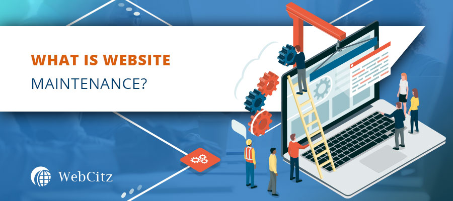What is Website Maintenance? Image
