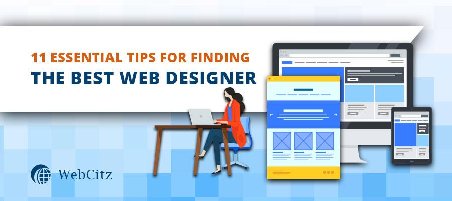 11 Essential Tips for Finding the Best Website Designer Image