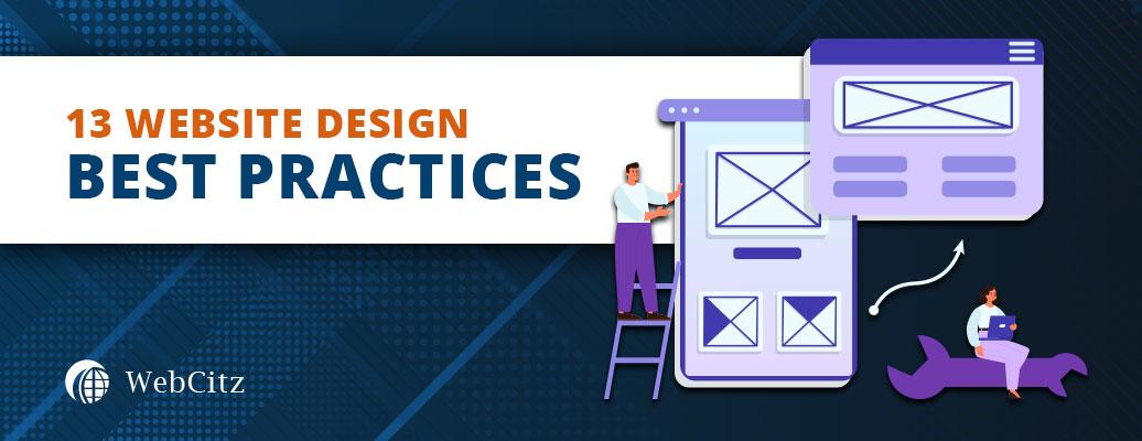 13 Website Design Best Practices Image