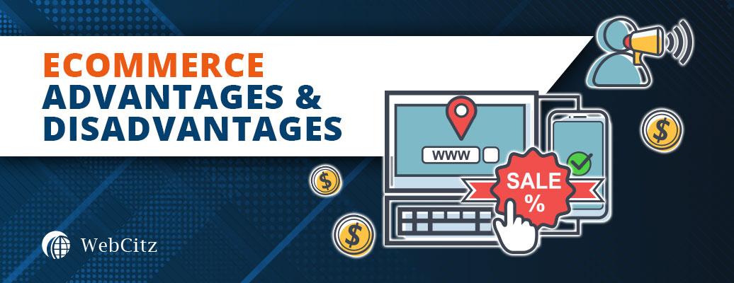 Ecommerce Advantages & Disadvantages Image