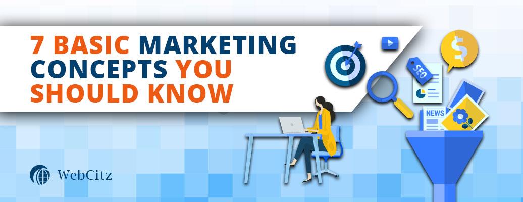 7 Basic Ecommerce Marketing Concepts Image