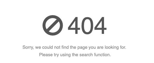 Website Maintenance. Making sure there are no 404 Pages