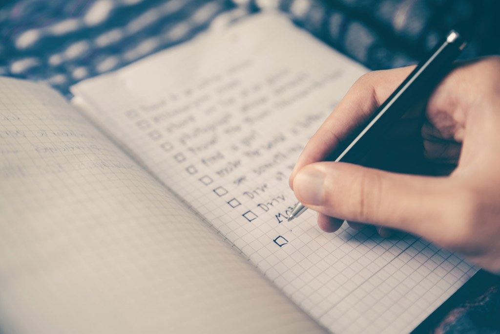notebook with a Web Design Tips