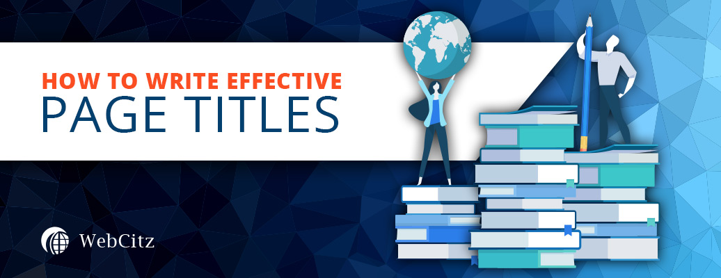 How to Write Effective Page Titles? Image