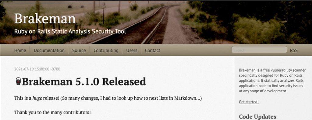 Brakeman Homepage