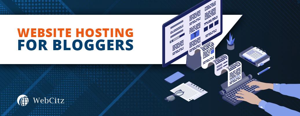 Best Website Hosting for Bloggers Image